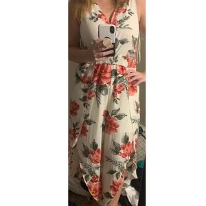 Tops - Dream of Me Floral Jumpsuit